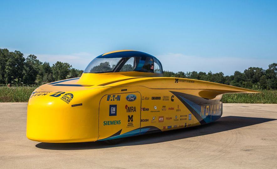 2017 University of Michigan Novum Solar Car - Slide 7
