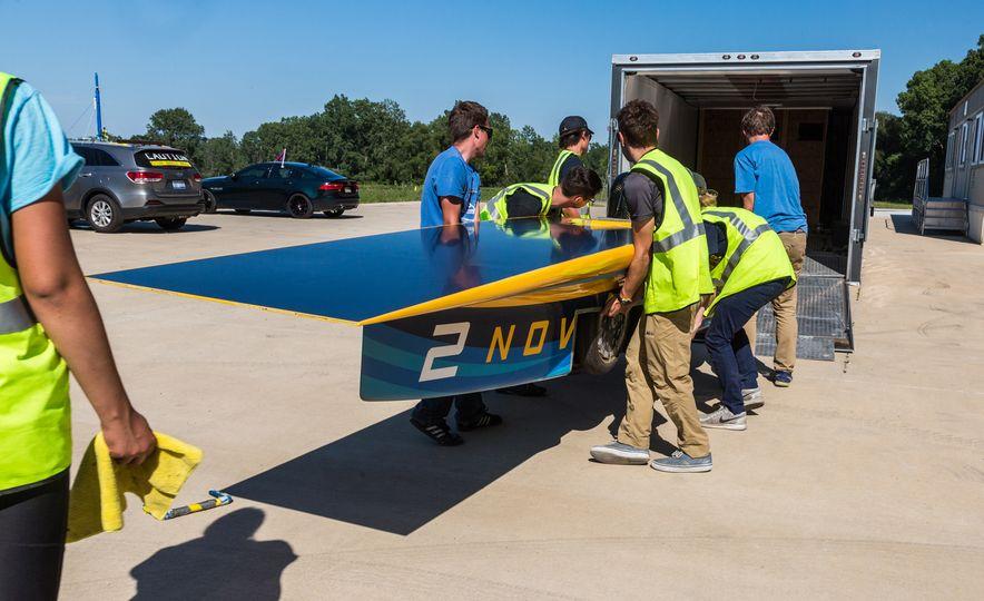 2017 University of Michigan Novum Solar Car - Slide 8