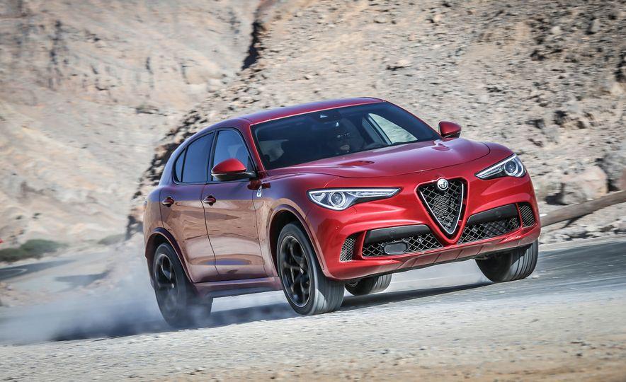 2018 Alfa Romeo Stelvio Quadrifoglio - Slide 1