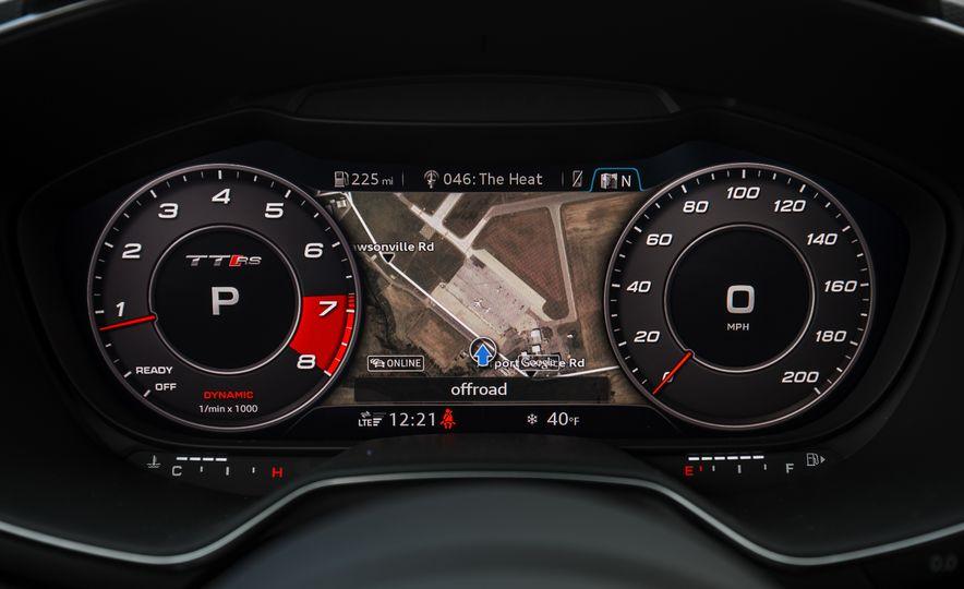 2018 Audi TT RS - Slide 44