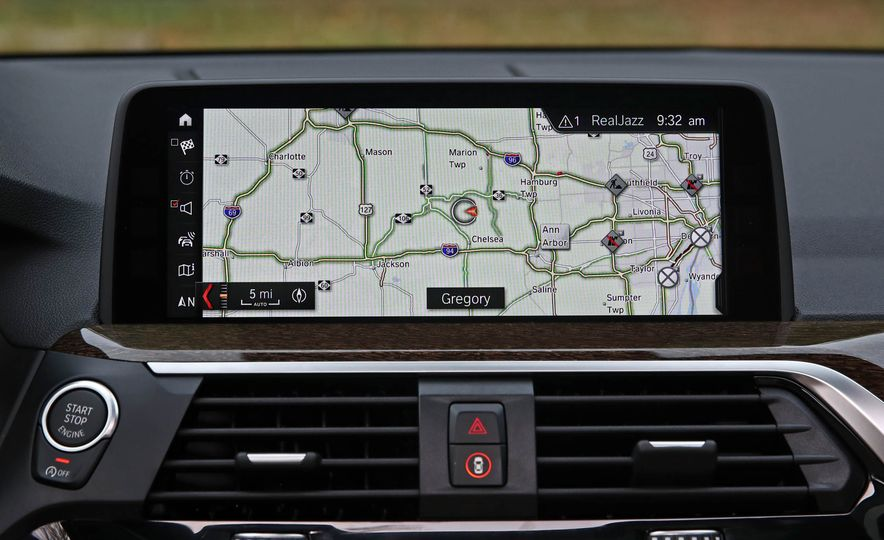2018 BMW X3 30i xDrive - Slide 46
