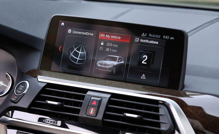 2018 BMW X3 30i xDrive - Slide 47