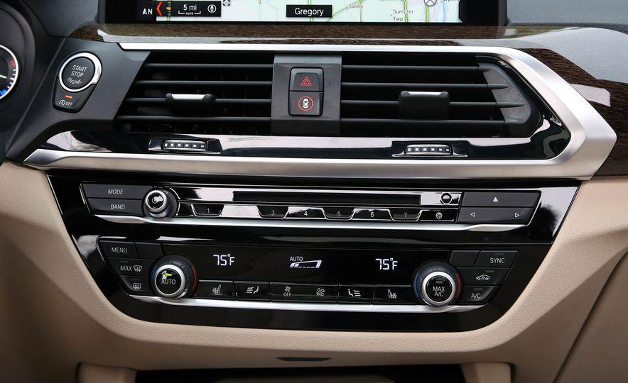 2018 BMW X3 30i xDrive - Slide 50