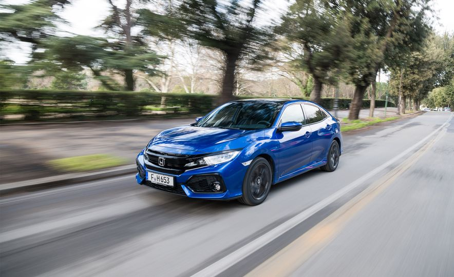 2018 Honda Civic i-DTEC Diesel (Euro-spec) - Slide 1