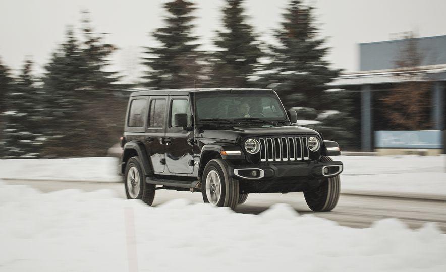 2018 Jeep Wrangler JL Unlimited Sahara - Slide 1