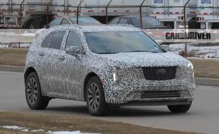 2019 Cadillac XT4 Crossover Interior Spied: Buttons Are Back