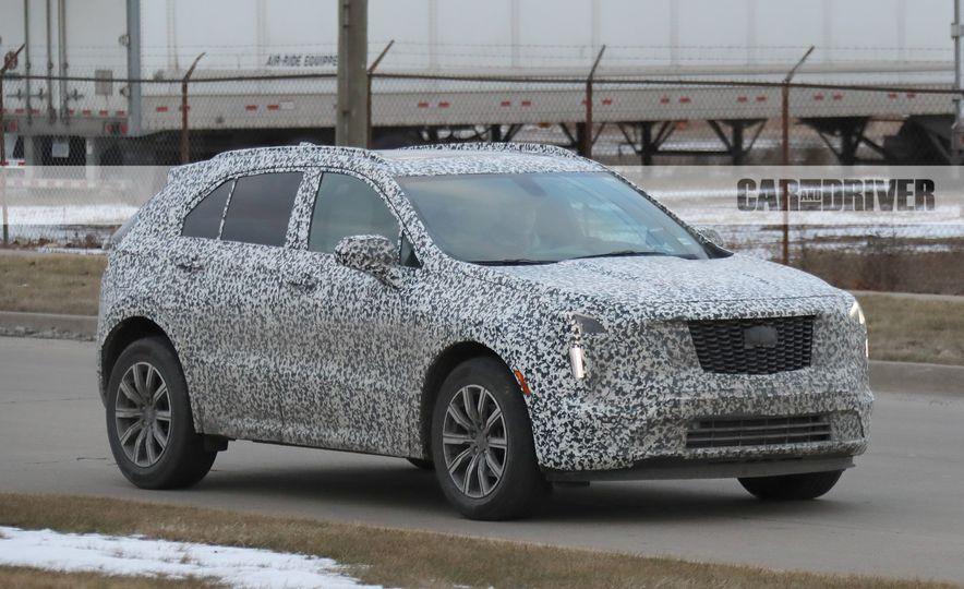2019 Cadillac XT4 (spy photo) - Slide 3