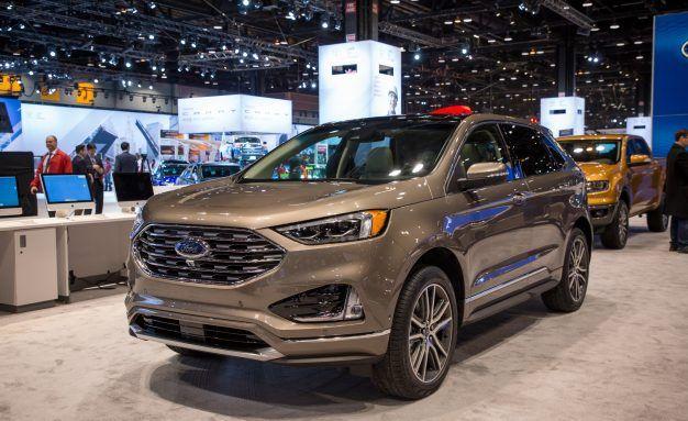 Ford Edge Titanium 2018 2019 Ford Reviews