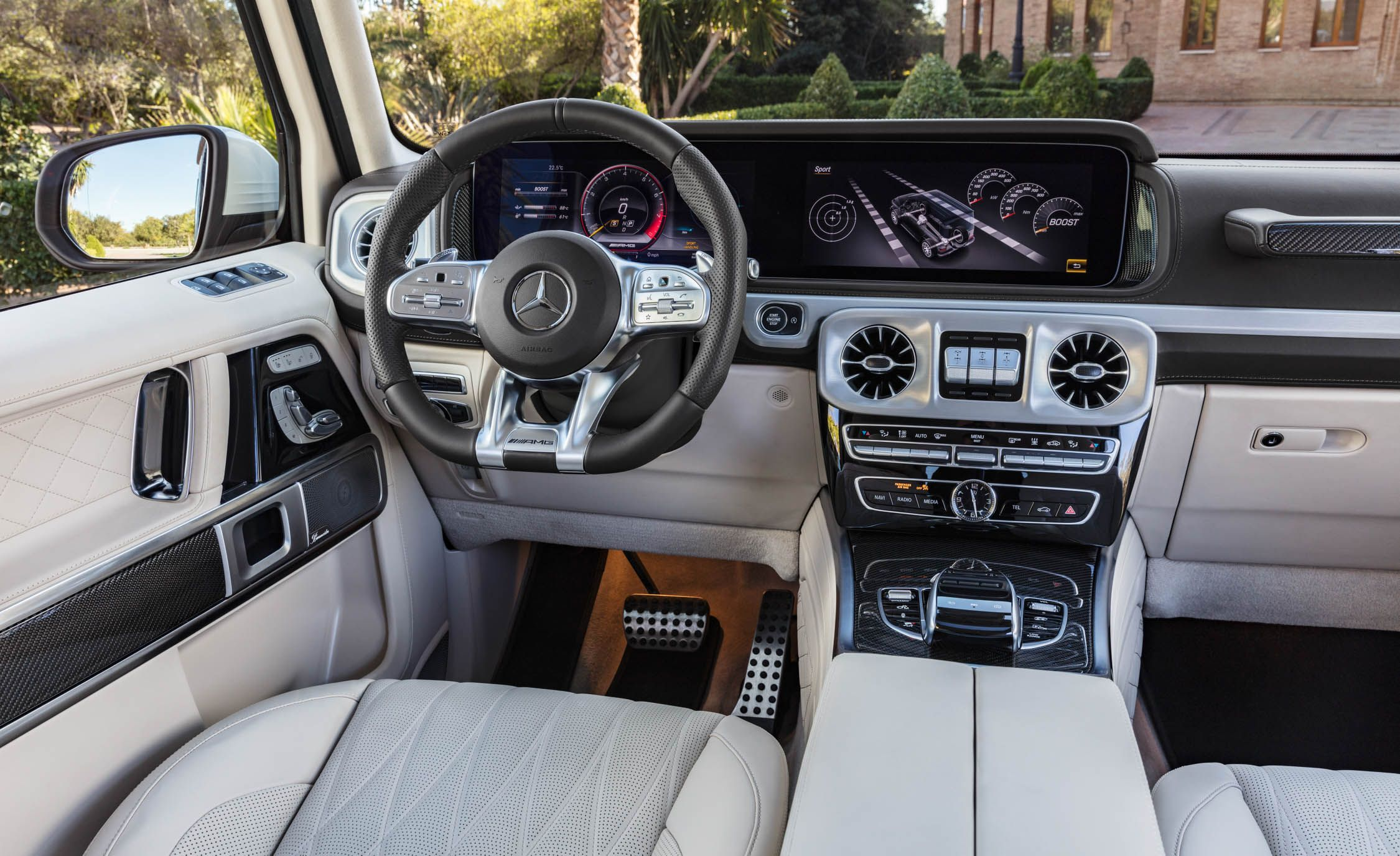 2019 Mercedes Amg G63 G65 4matic Reviews Price Photos And Specs Car Driver