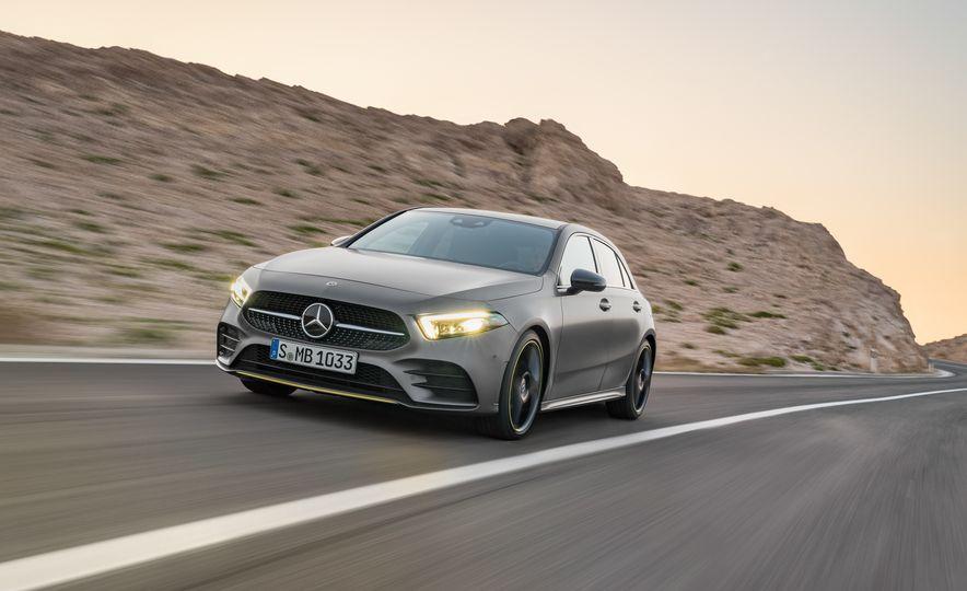2019 Mercedes-Benz A-class - Slide 3