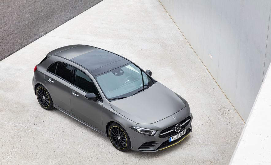 2019 Mercedes-Benz A-class - Slide 22