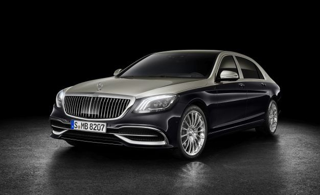 New Face: 2019 Mercedes-Maybach S-class Flashes a Fresh Grille