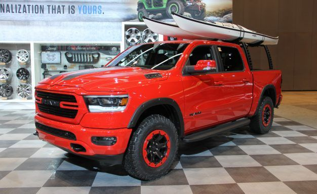 Mo' Ram: Ram Shows Off Mopar-ized 1500 Pickup