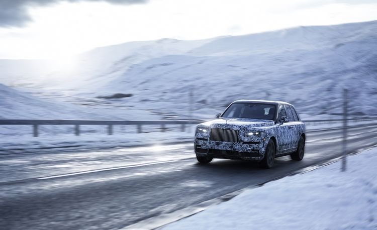 Call Me Cullinan: Rolls-Royce's SUV Gets a Name