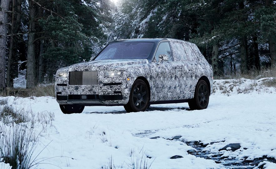 Rolls-Royce Cullinan - Slide 6
