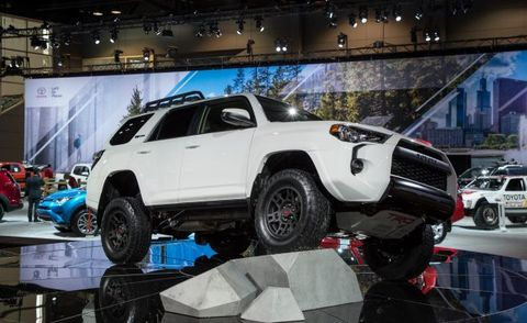 2017 Toyota 4runner Trd Pro For Sale >> 2019 4Runner TRD Pro: Be a Tough Guy, or Just Look Like ...