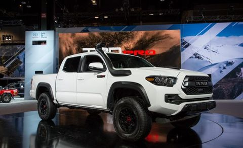 2018 Toyota Tundra Trd Pro >> 2019 Toyota Tacoma TRD Pro Continues to Rule Dirt, Professionally | News | Car and Driver