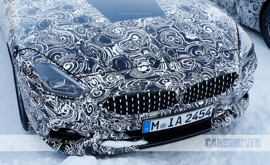 2019 BMW Z4 (spy photo) - Slide 8
