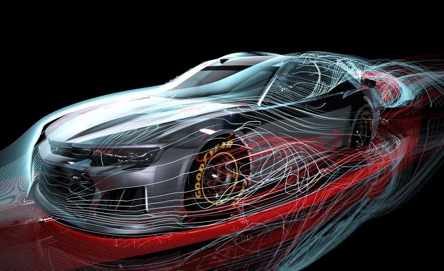 Shake 'n' Bake: NASCAR's New Camaro ZL1 Racer Actually Looks Like the Production Version - Slide 14
