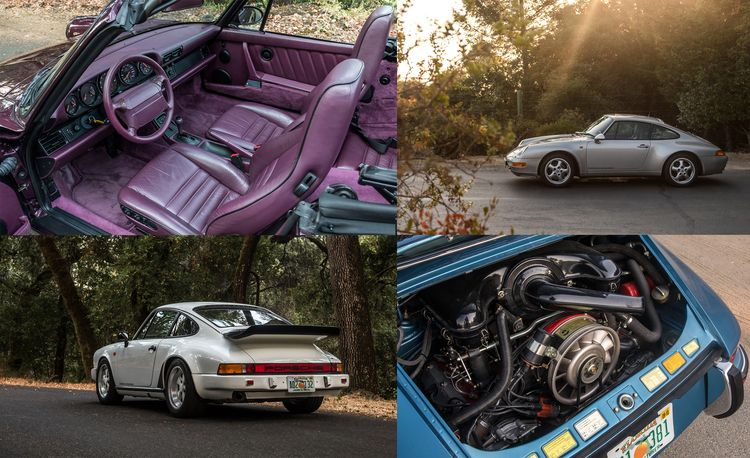 Cool Breeze: We Drive Historic Air-Cooled Porsche 911s