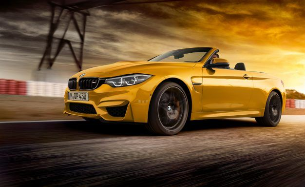 BMW M Celebrates 30 Years of Convertibles with a Convertible