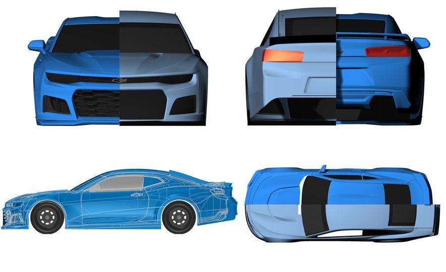 Shake 'n' Bake: NASCAR's New Camaro ZL1 Racer Actually Looks Like the Production Version - Slide 13