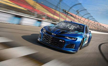 Shake 'n' Bake: NASCAR's New Camaro ZL1 Racer Actually Looks Like the Production Version