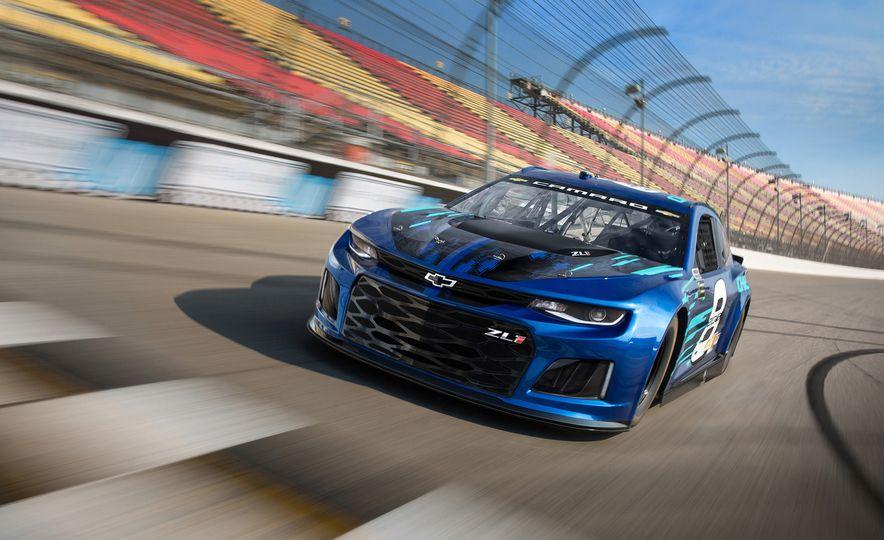 Shake 'n' Bake: NASCAR's New Camaro ZL1 Racer Actually Looks Like the Production Version - Slide 1