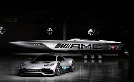 Mercedes-AMG Hypercar-Inspired Cigarette Racing 515 Project One Is a Seafaring Fantasy
