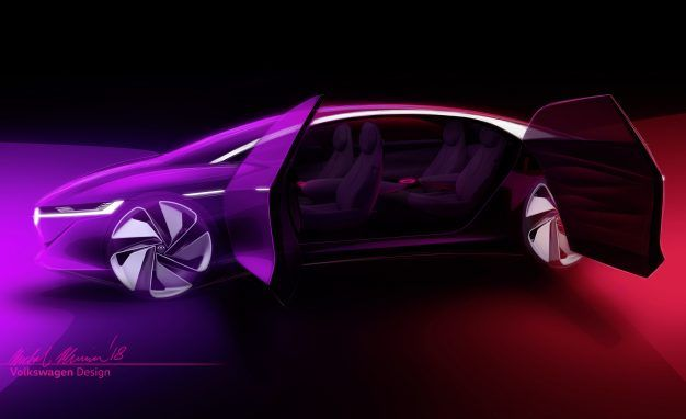 Catch Some Zs: Volkswagen I.D. Vizzion Concept Is a Flagship for the Geriatric Set