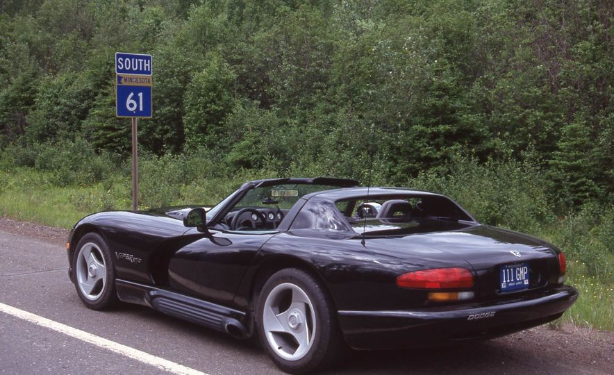 Tracing Highway 61 in a Dodge Viper - Slide 2