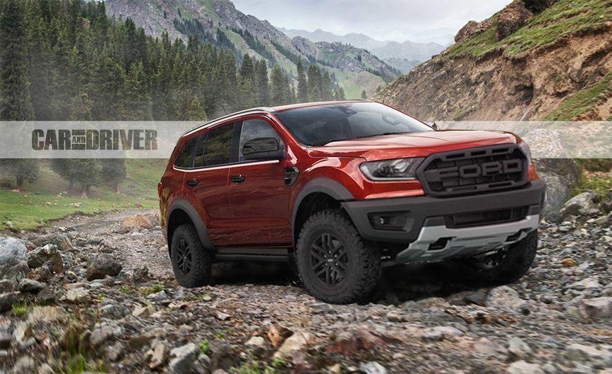 Potential Ford Everest Raptor Could Pave the Way for a Bronco Raptor - Slide 1