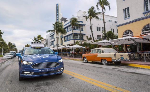 Miami Slice: Ford Starts Self-Driving Pizza Delivery, and More, in South Florida