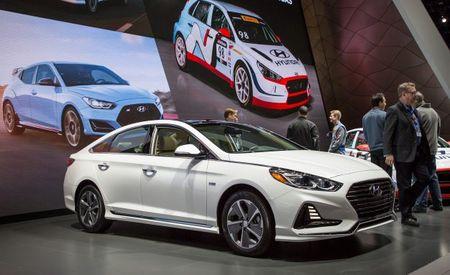 Updated 2018 Hyundai Sonata Hybrid and Plug-In Hybrid Play Catch-Up