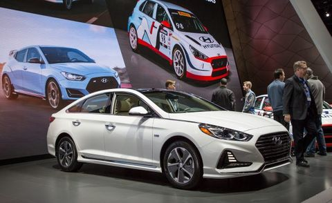 2018 Hyundai Sonata Hybrid And Plug In