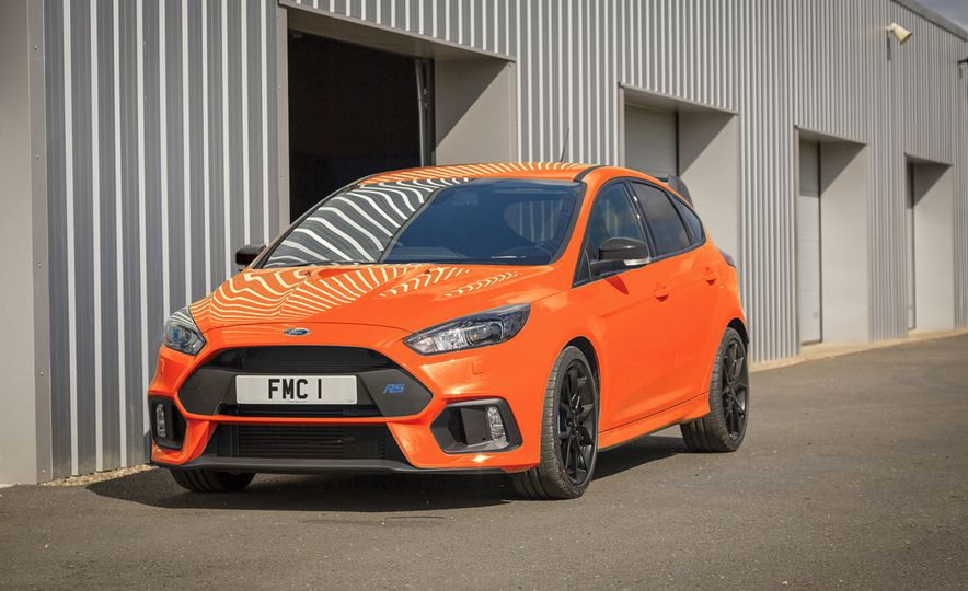 Ford Focus RS Heritage Edition - Slide 1