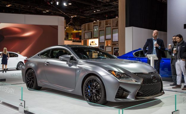 Lexus Unveils Gs F And Rc F Special Edition Models News Car And