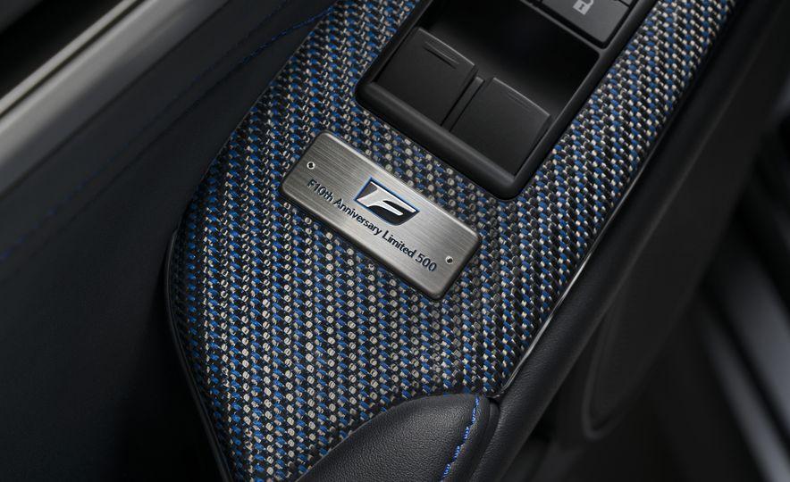 Lexus RC F 10th Anniversary - Slide 26