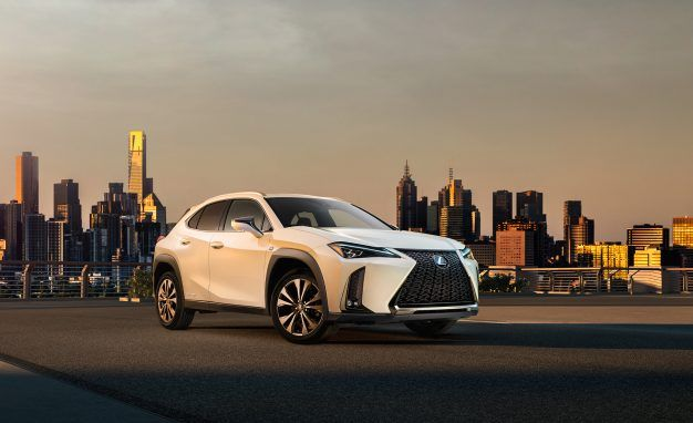 Small User Experience: Lexus Releases First Pic of UX Compact Crossover