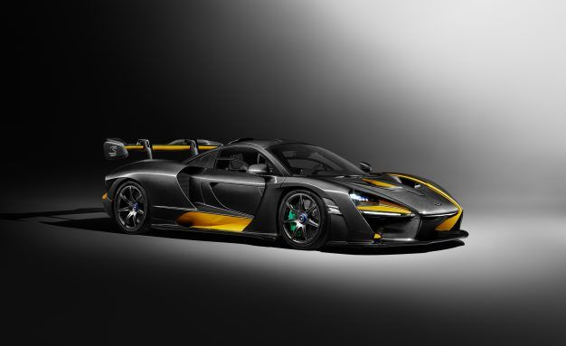 Just the Custom Work on this Carbon-Themed McLaren Senna Cost $414K