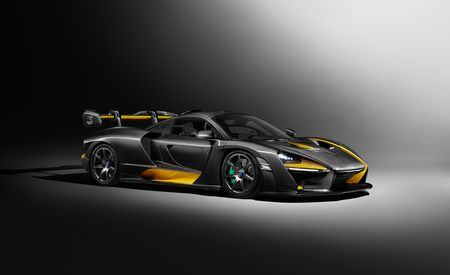 Just the Custom Work on this Carbon-Themed McLaren Senna Cost about $400K