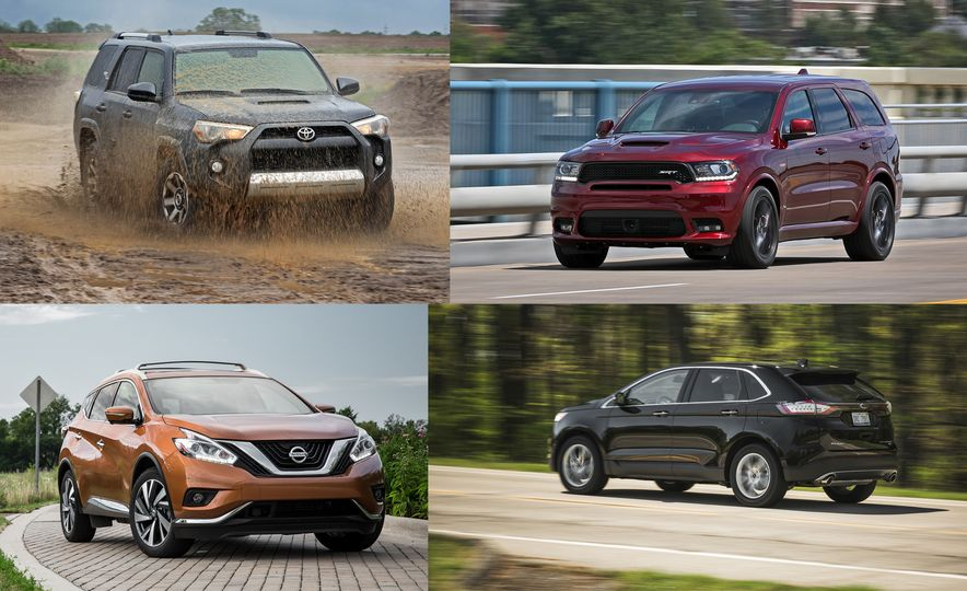 Right-Sized: Every Mid-Size Crossover and SUV Ranked from Worst to Best - Slide 1