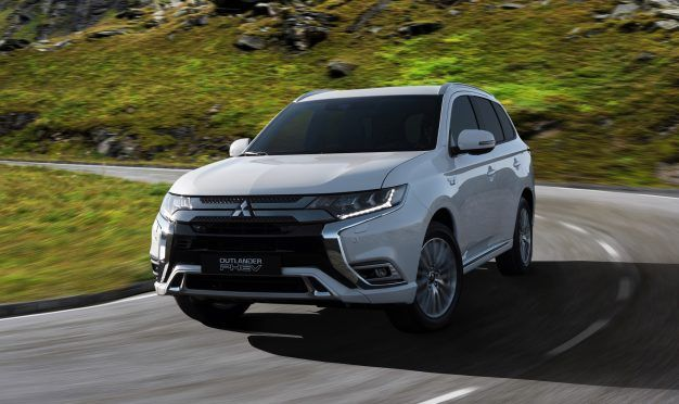2019 Mitsubishi Outlander PHEV Gets Powertrain Tweaks, Updated Styling