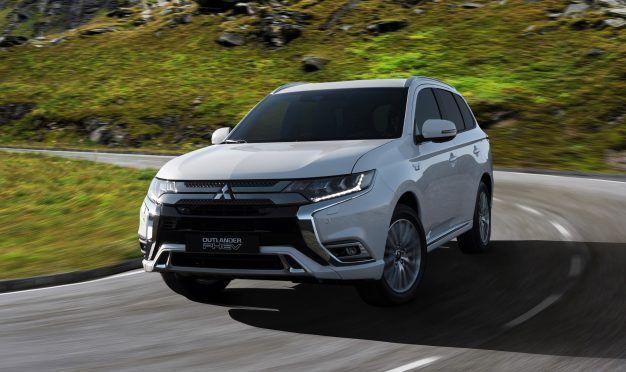 2019 Mitsubishi Outlander PHEV Gets Powertrain Tweaks, Updated Styling