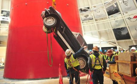 Out of the Sinkhole: Corvette Museum Has Restored the Last of the Damaged Vettes