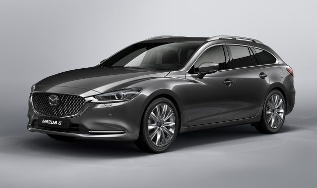 The Mazda 6 Wagon Gets Refreshed; Now Bring It to America, Please