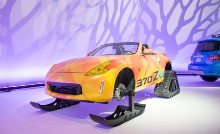 Zki Lift: Nissan Adds Tracks and Skis to a 370Z Roadster