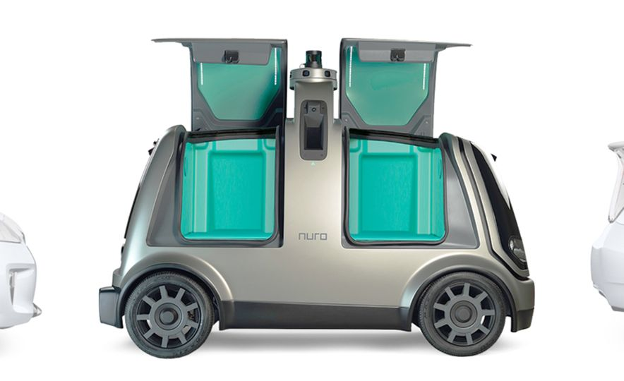 Nuro Autonomous Shopping Buggy - Slide 6