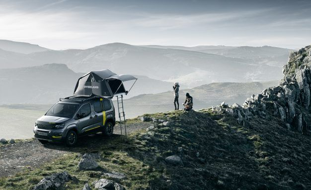 High Plains Rifter: This Peugeot 4×4 Van Concept Is Never in a Hurry
