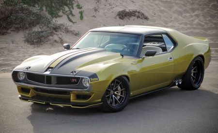 Defiant Drive: Taking a Spin, Almost Literally, in Prestone's 1036-HP, Hellcat-Powered '72 AMC Javelin AMX